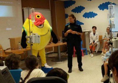 actividades aula hospitalaria servicio pediatria santiago
